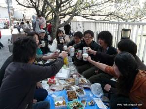 ぽおる花見2011(乾杯)
